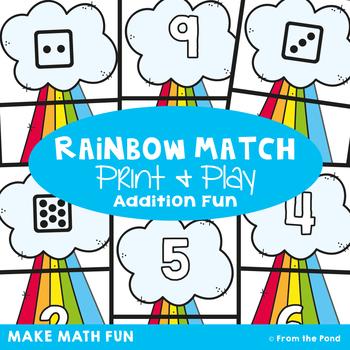Rainbow Match - Addition Game