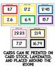 Rainbow Math - Adding and Subtracting Decimals Activity