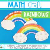 Rainbow Math Craft for March