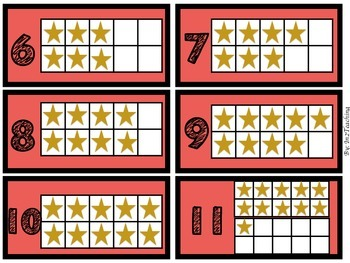Rainbow Math Deck of Cards: With Tens Frames