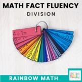 Rainbow Math: Division Fact Fluency (A Flash Card System)