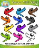 Rainbow Math Gators / Greater Than & Less Than {Zip-A-Dee-Doo-Dah Designs}