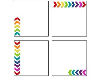 Rainbow Math Manipulative Bin Labels- EDITABLE!