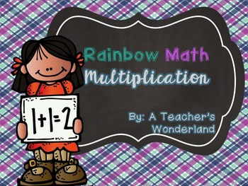 Rainbow Math-Multiplication