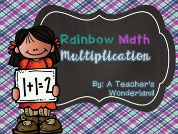 Rainbow Math-Multiplication