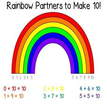 Rainbow Math - Addition and Subtraction