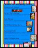Rainbow Math and Literacy Activities