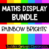 Rainbow Maths Display BUNDLE