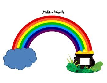 Rainbow Mats-Making words