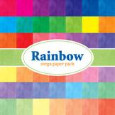 Designer's Resource: Rainbow Mega Pack # 1 - 48 - 12 x 12