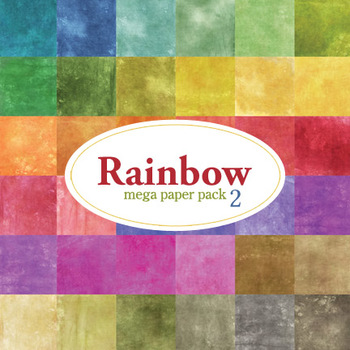 Rainbow Mega Pack Two Paper