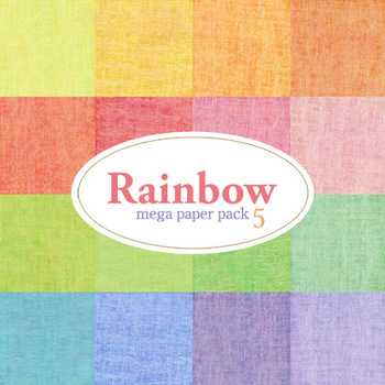 Rainbow Mega Pack Five Paper