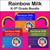 Rainbow Milk:  Experiment Bundle for K-5th Grade