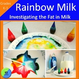 Rainbow Milk:  Experiment With The Types Of Milk For K-1st Grade