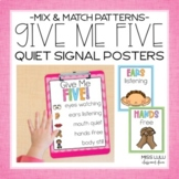 Rainbow Mix n' Match Give Me 5 Posters