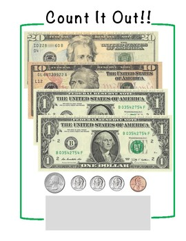 Rainbow Money #1 - Leveled Money Counting Tasks - Life Skills