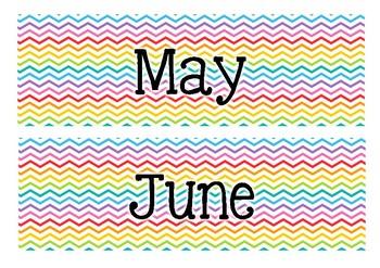Rainbow Month cards