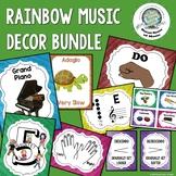Rainbow Music Decor Bundle