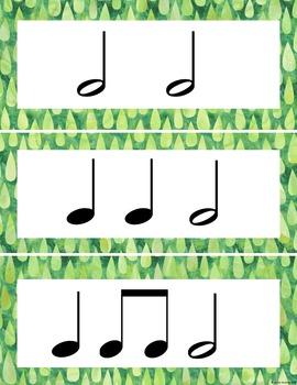 Rainbow Music Room Theme - Rhythm Bank, Rhythm and Glues