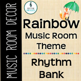 Rainbow Music Room Theme - Rhythm Bank, Rhythm and Glues