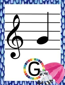 Rainbow Music Room Theme - Super Bundle, Rhythm and Glues