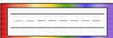 Rainbow Name Tag