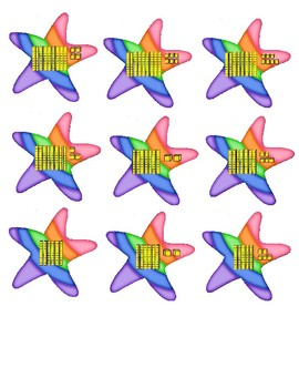 Rainbow Narwhal Numbers Place Value 30-99  Math Center First Second Grade