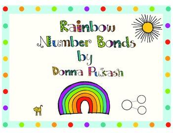 Rainbow Number Bonds and Bracelets/Bookmarks