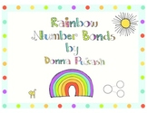 Rainbow Number Bonds and Bracelets/Bookmarks