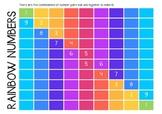 Rainbow Number Chart