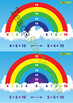 Rainbow Number Fact Cards