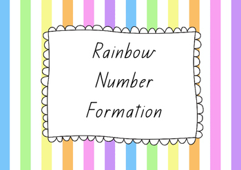 Rainbow Number Formation