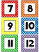 Rainbow Number Labels