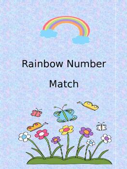 Rainbow Number Match