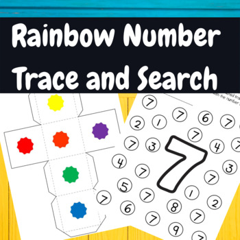 Back to School-Rainbow Number Recognition