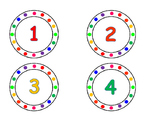 Rainbow Number Set