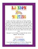 Rainbow Number Writing 0-9