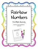 Rainbow Number Writing