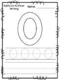 Rainbow Number Writing Pages 0-10