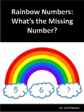 March Activities: Rainbow Numbers:  What's the missing num