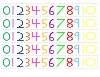 Rainbow Numbers for Student Desks