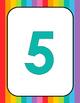 Rainbow Numerals Printable