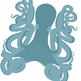 Rainbow Octopus and Octopi Clip Art Set for Commercial Use