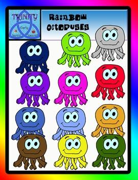 Rainbow Octopuses