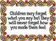 Classroom Quotes (Rainbow Paisley)