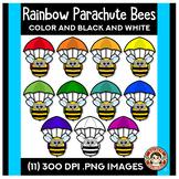 Rainbow Bees | Parachute Bees