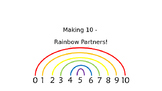 Rainbow Partners of 10- Making Ten to help add