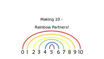 Rainbow Partners of 10- Making Ten to help add
