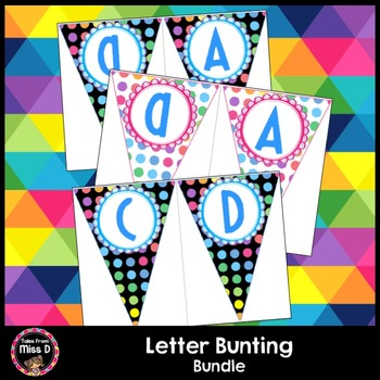 Letter Bunting