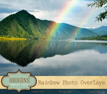 Rainbow Photo Overlays Rainbow png photograph photoshop di